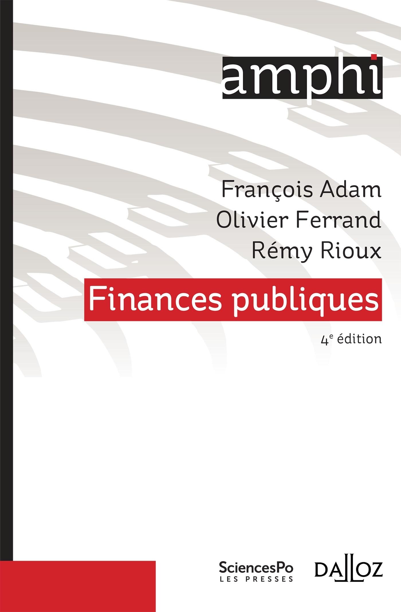 FINANCES PUBLIQUES - 4E ED.