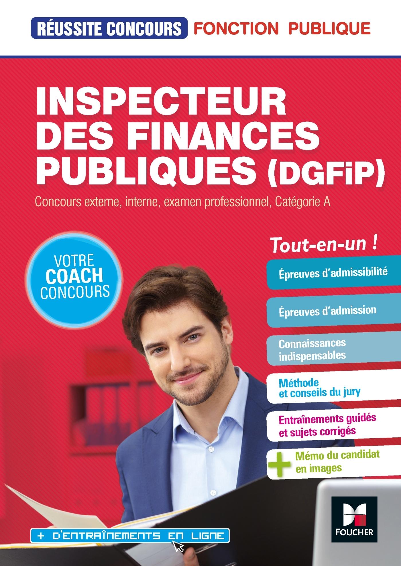 REUSSITE CONCOURS INSPECTEUR DGFIP 2018-2019
