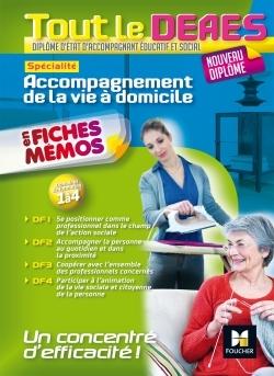 TOUT LE DEAES - ACCOMPAGNEMENT DE LA VIE A DOMICILE