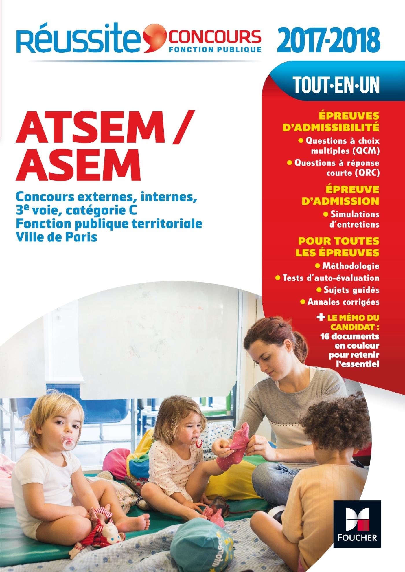 REUSSITE CONCOURS ATSEM/ASEM CONCOURS EXTERNE, INTERNE ET 3E VOIE CONCOURS 2017-2018 N 29