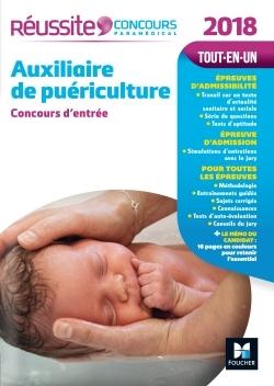 REUSSITE CONCOURS AUXILIAIRE DE PUERICULTURE - CONCOURS D'ENTREE 2018 N 16