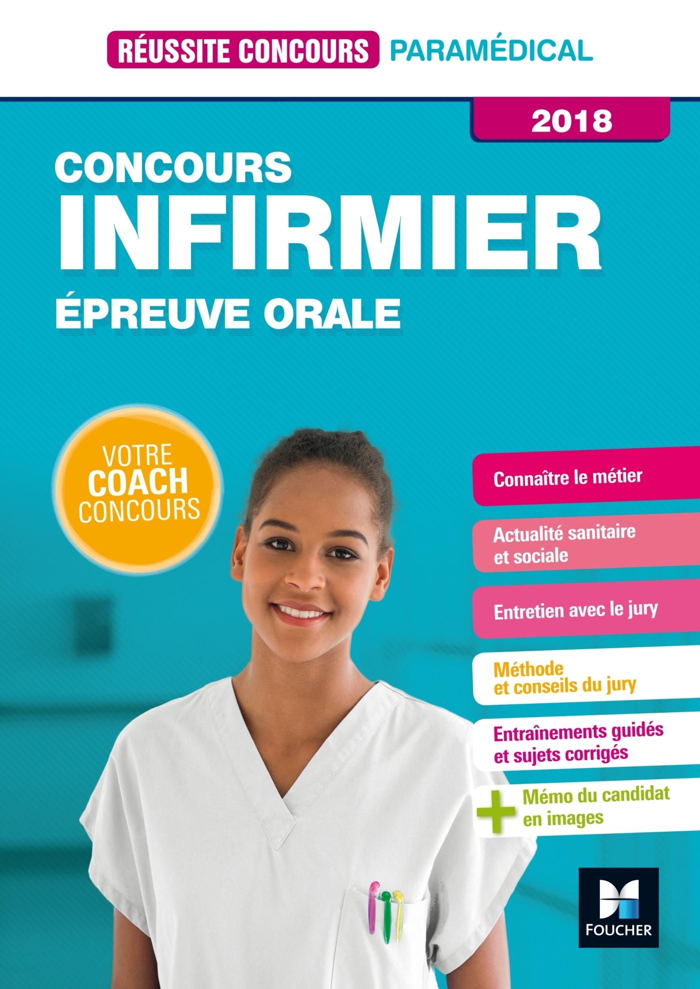 REUSSITE CONCOURS - IFSI - EPREUVE ORALE - 2018 - PREPARATION COMPLETE
