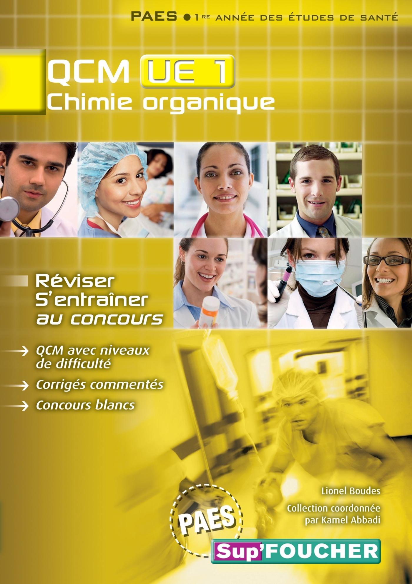 QCM UE1 CHIMIE ORGANIQUE