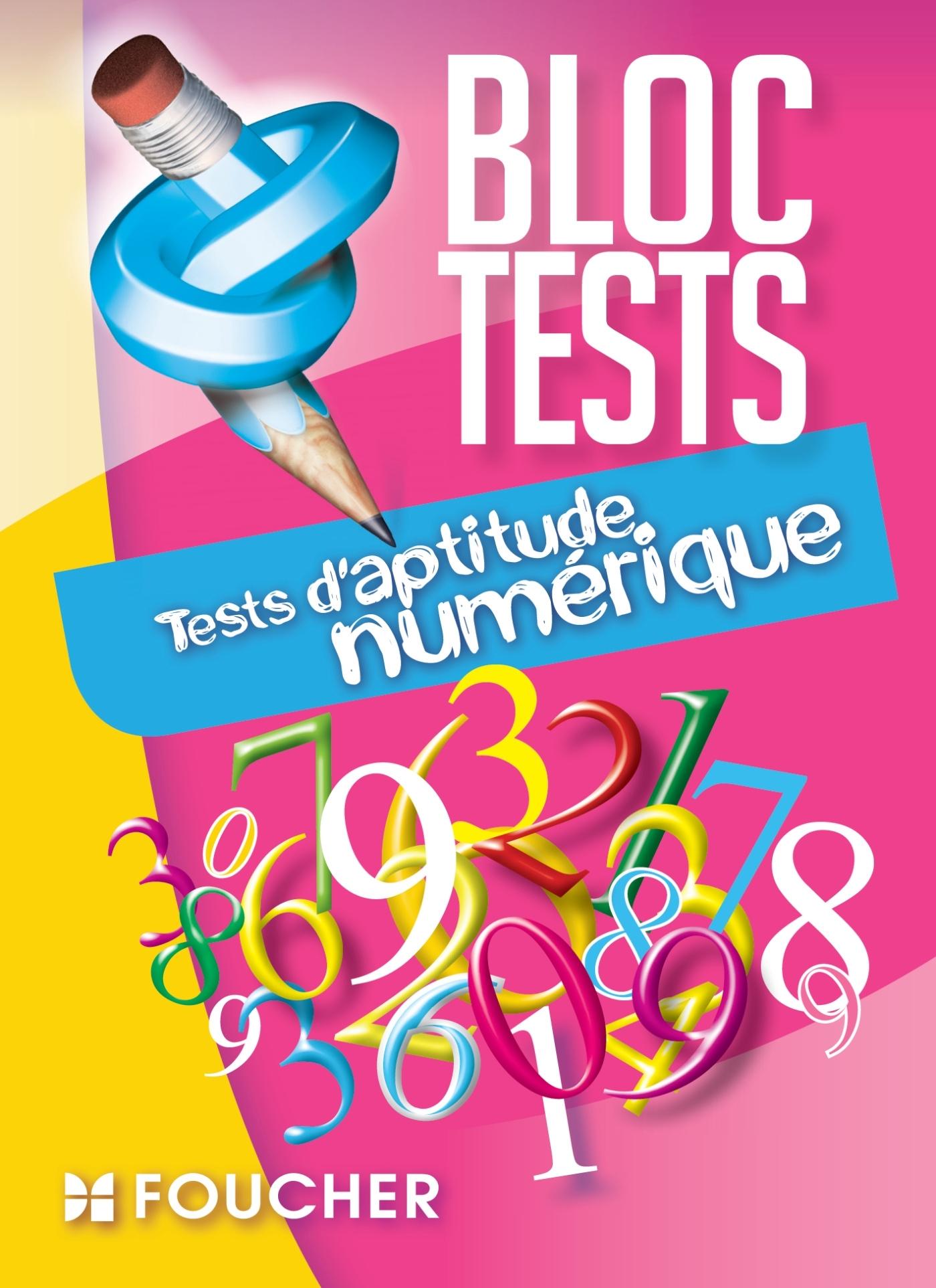 TESTS D'APTITUDE NUMERIQUE