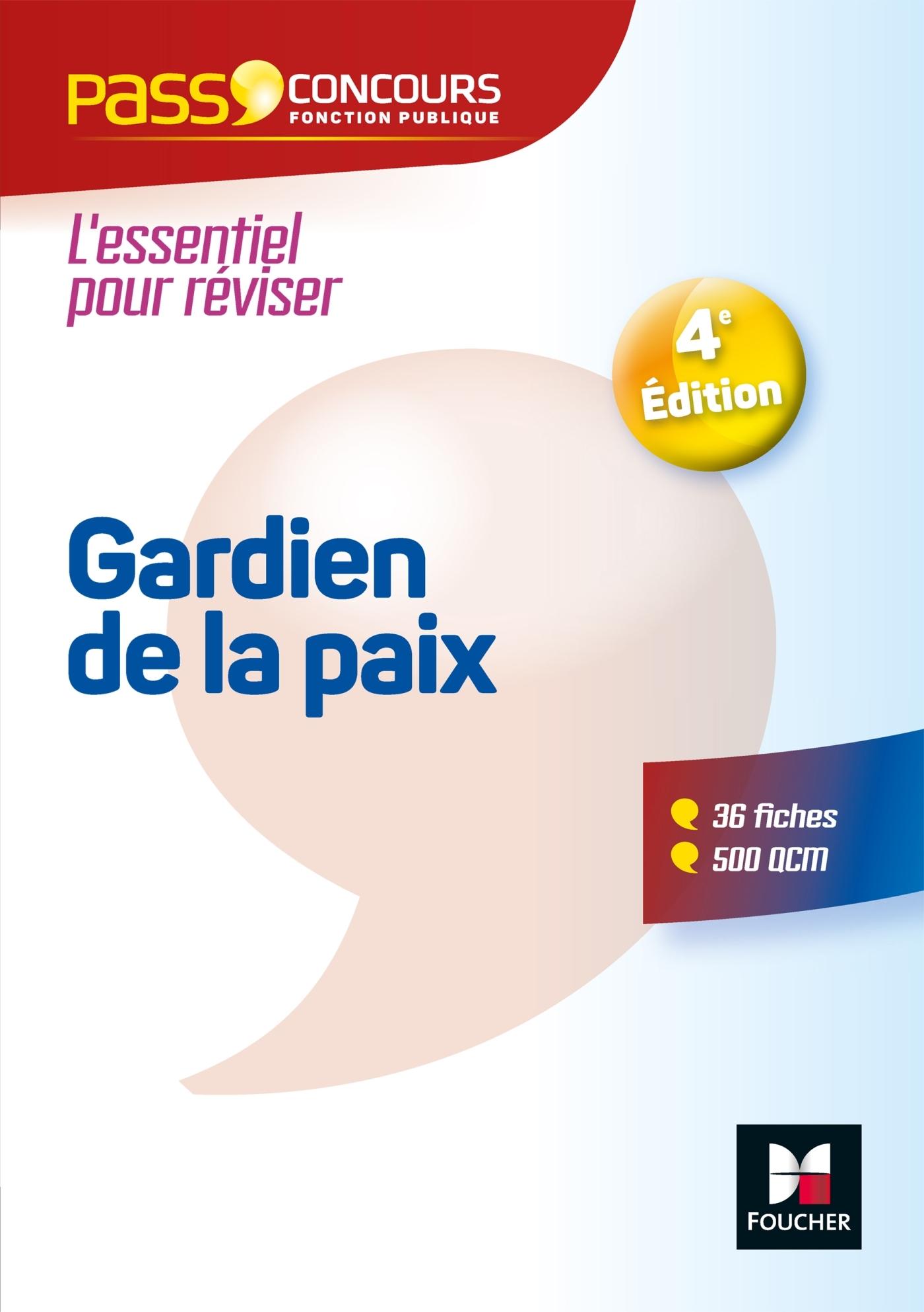 PASS'CONCOURS - GARDIEN DE LA PAIX CAT. B - ENTRAINEMENT ET REVISION