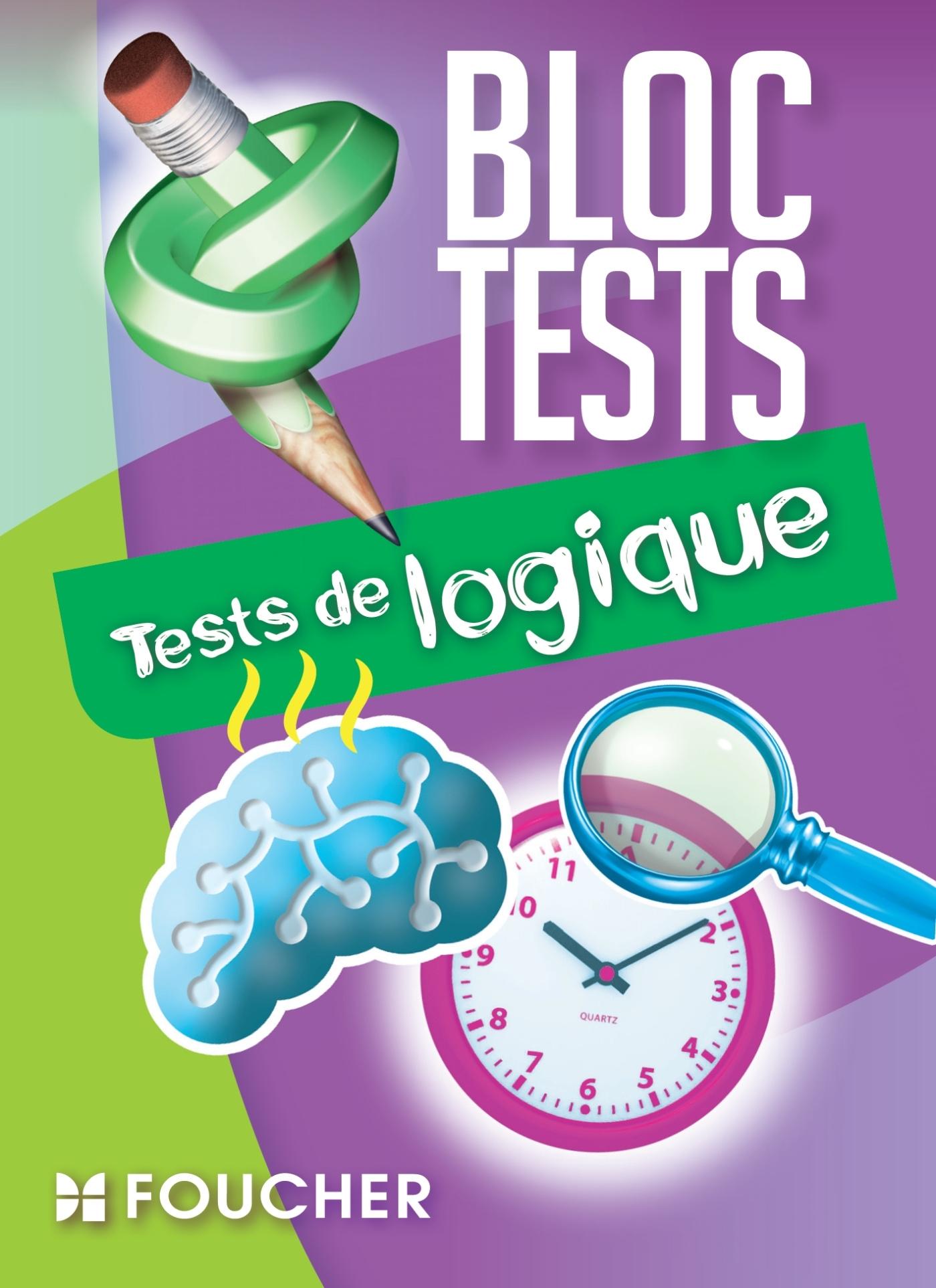 TESTS DE LOGIQUE