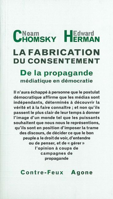 FABRICATION DU CONSENTEMENT (LA)