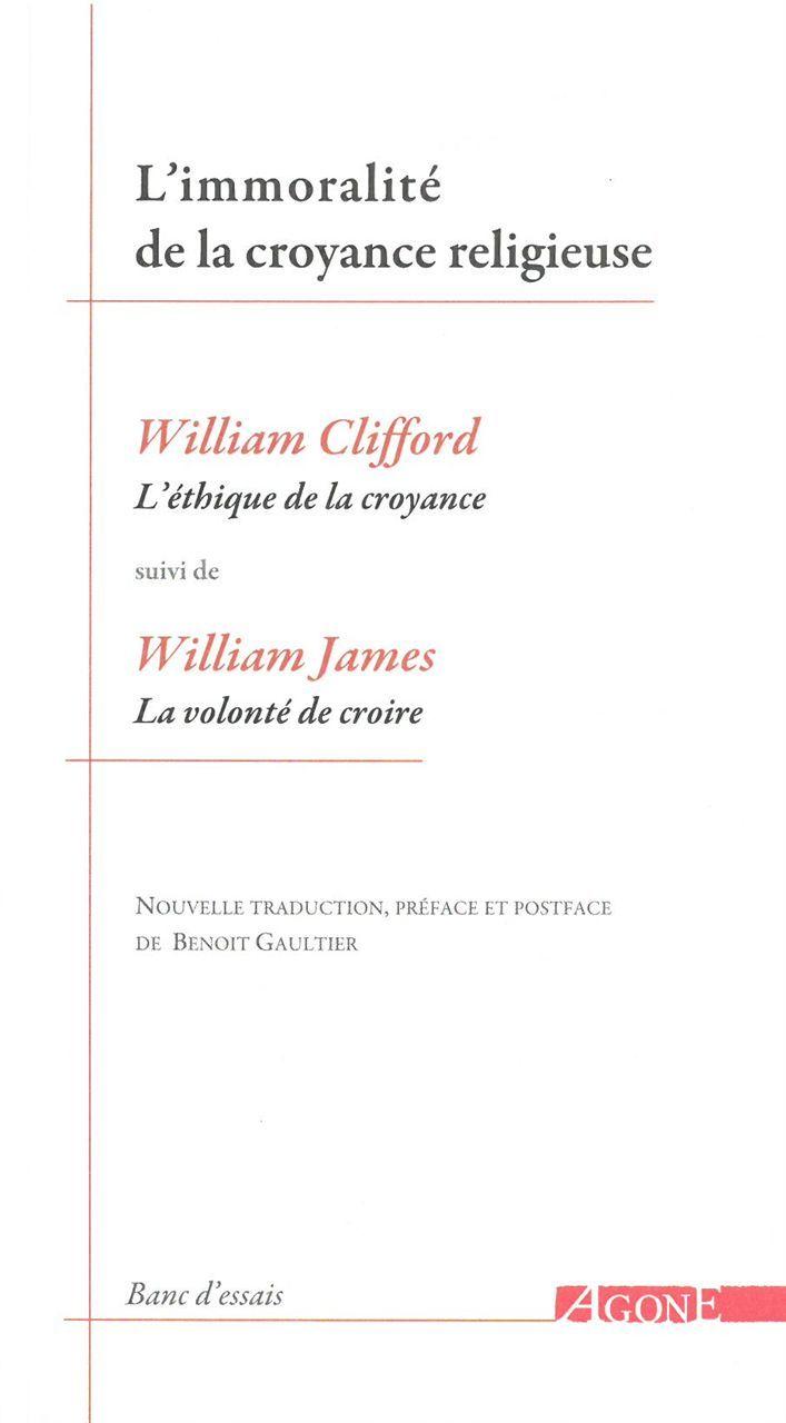IMMORALITE DE LA CROYANCE RELIGIEUSE (L')
