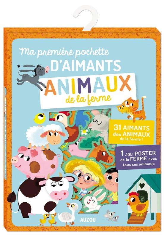 MA PREMIERE POCHETTE D'AIMANTS ANIMAUX DE LA FERME