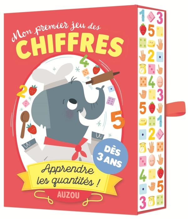 MON PREMIER JEU DES CHIFFRES - APPRENDRE LES QUANTITES !