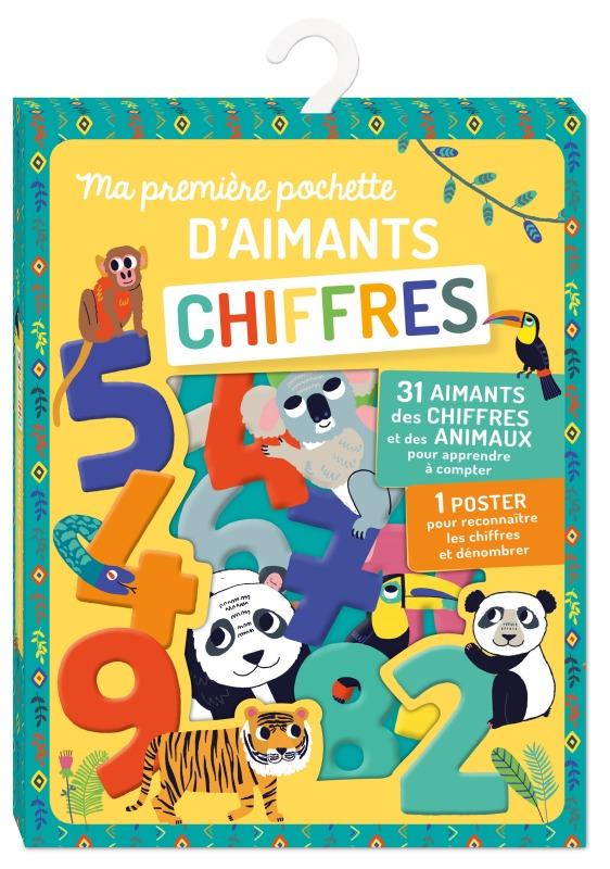 MA PREMIERE POCHETTE D'AIMANTS CHIFFRES