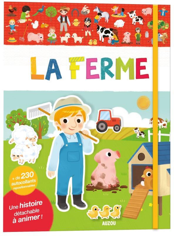 LA FERME (COLL. MES PREMIERS AUTOCOLLANTS)