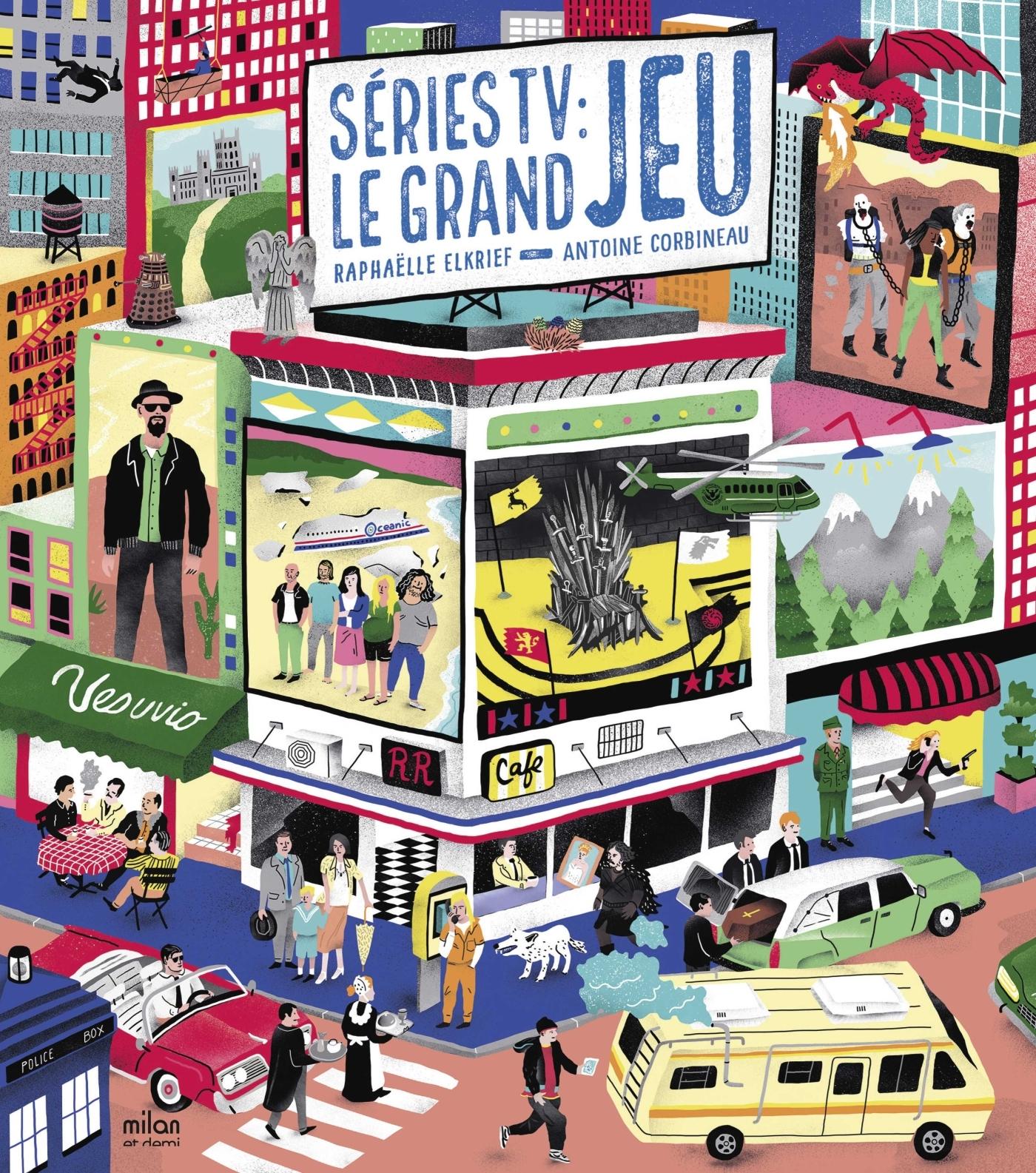 SERIES TV : LE GRAND JEU
