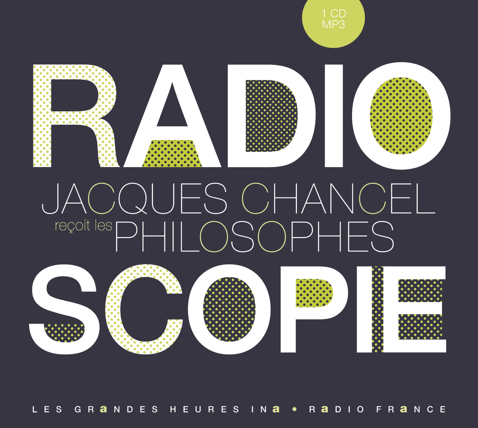 RADIOSCOPIE 5 : PHILOSOPHES - 1 CD MP3