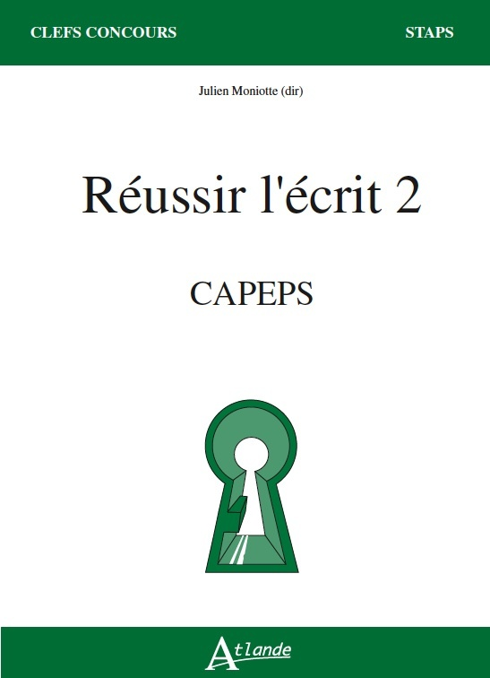 REUSSIR L'ECRIT 2 - CAPEPS