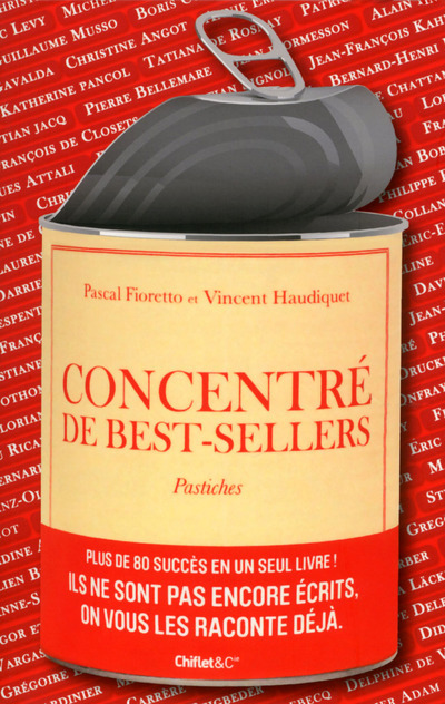 CONCENTRE DE BEST-SELLERS - PASTICHES