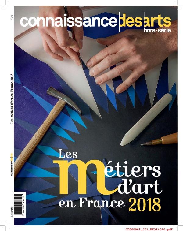 METIERS D ART EN FRANCE 2018