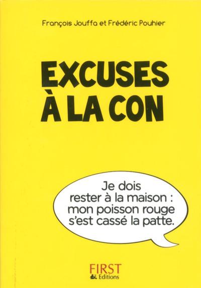PETIT LIVRE DE - EXCUSES A LA