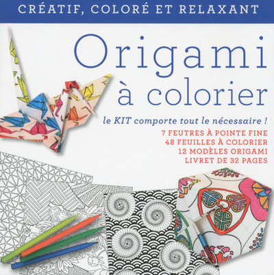 ORIGAMIS A COLORIER