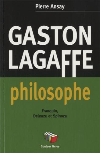 GASTON LAGAFFE PHILOSOPHE