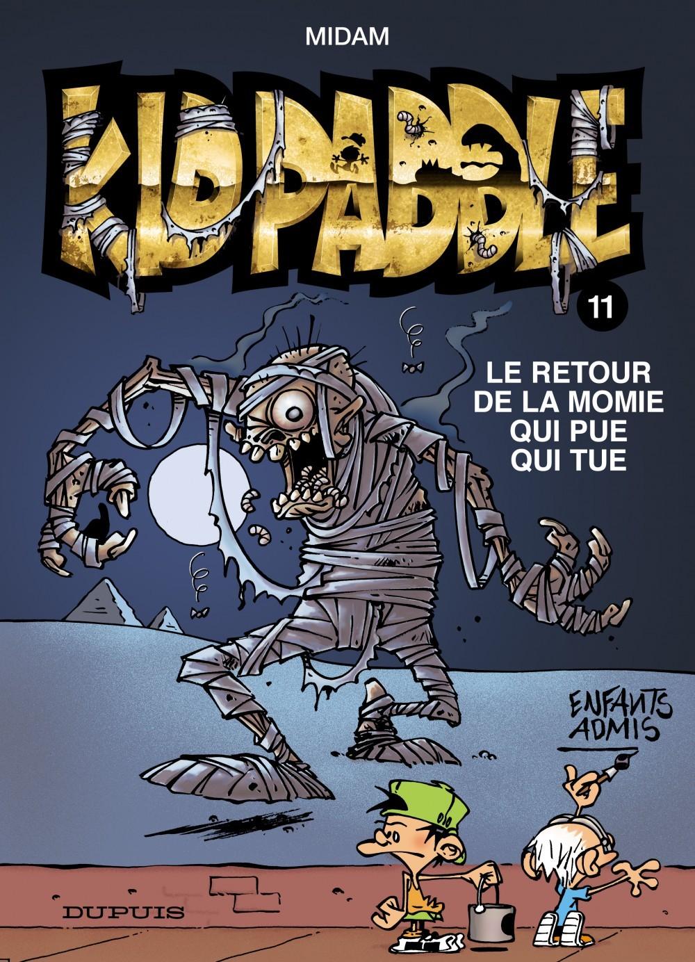 KID PADDLE T11 RETOUR DE LA MOMIE QUI PUE QUI TUE (LE) ODORAMAT