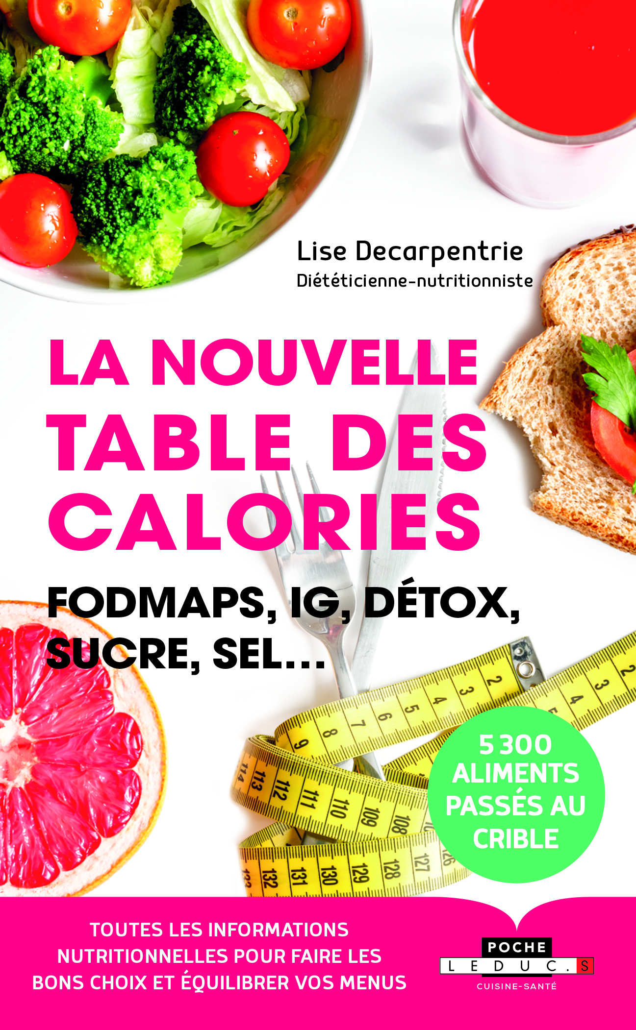 NOUVELLE TABLE DES CALORIES (LA)