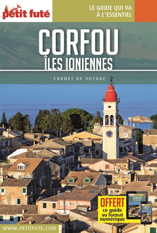 CORFOU - ILES IONIENNES 2018 CARNET PETIT FUTE + OFFRE NUM
