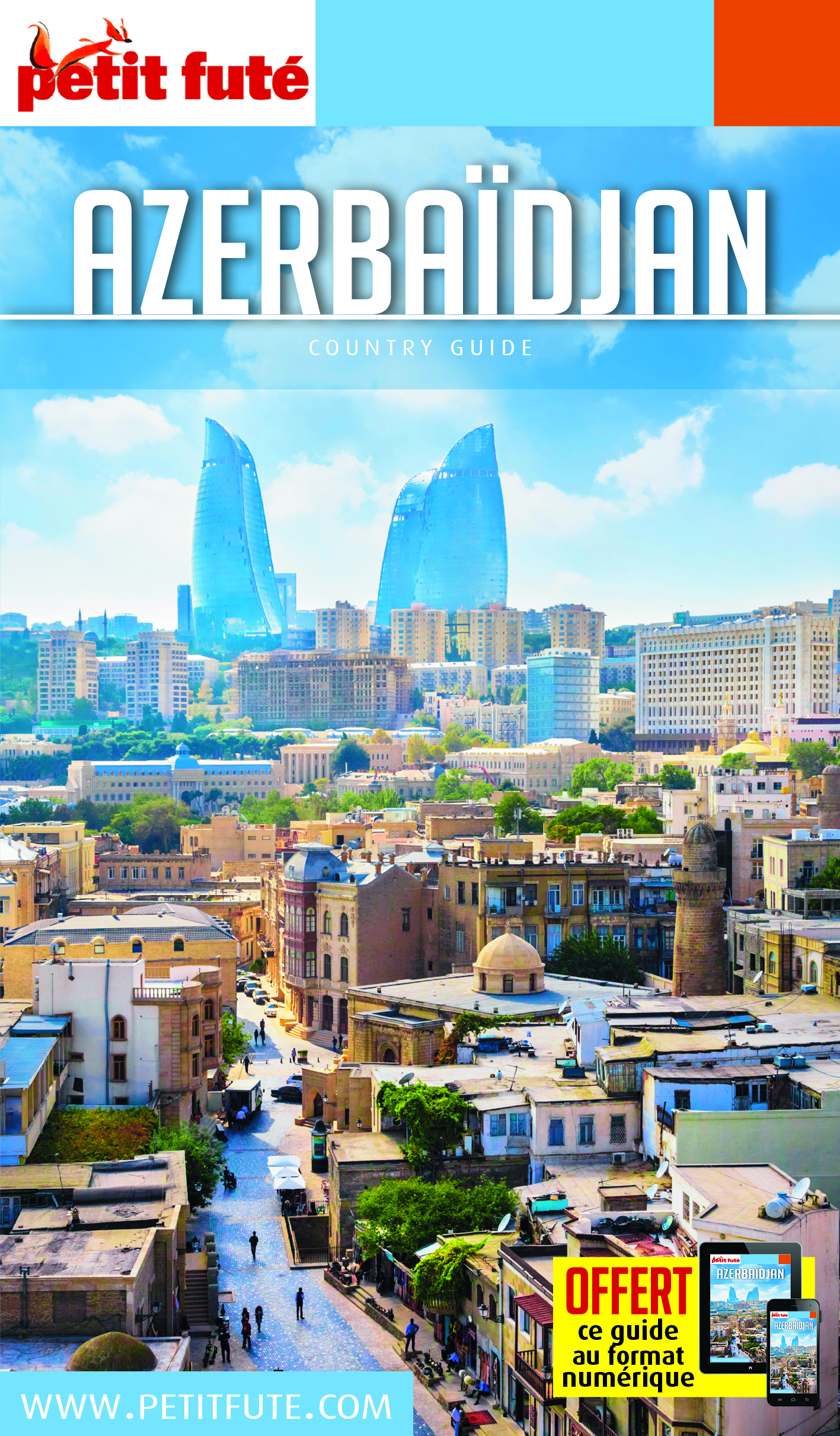 AZERBAIDJAN 2018 PETIT FUTE + OFFRE NUM