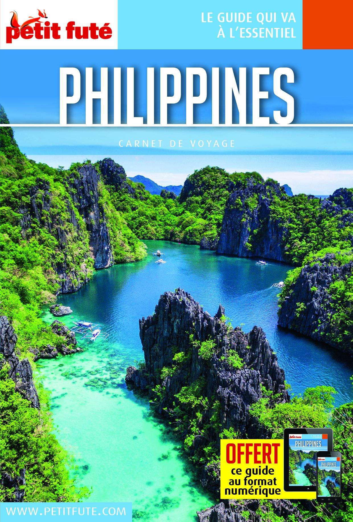 PHILIPPINES 2018 CARNET PETIT FUTE + OFFRE NUM