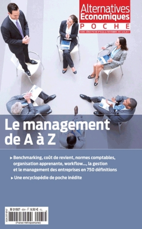 ALTERNATIVES ECONOMIQUES - HORS-SERIE POCHE NUMERO 64 BIS LE MANAGEMENT DE A A Z - NOVEMBRE 2013