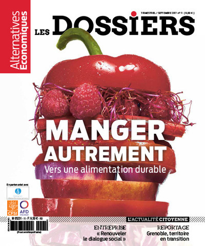 LES DOSSIERS D'ALTERNATIVES ECONOMIQUES - NUMERO 11 MANGER AUTREMENT