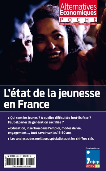 L'ETAT DE LA JEUNESSE EN FRANCE - ALTERNATIVES ECONOMIQUES HORS SERIE POCHE N 60