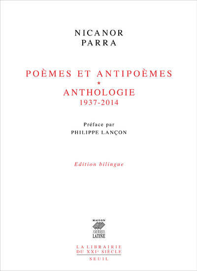 POEMES ET ANTIPOEMES - ANTHOLOGIE