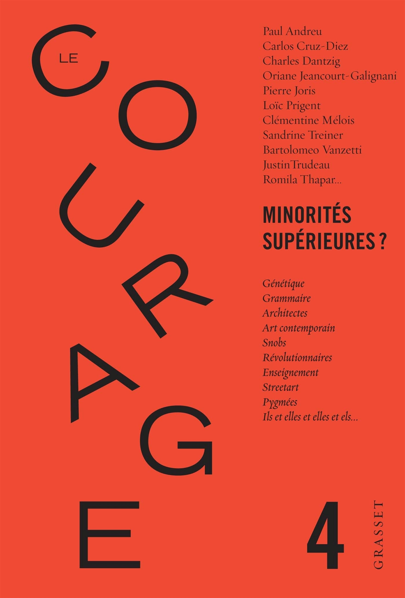 LE COURAGE N 4 / MINORITES SUPERIEURES ?