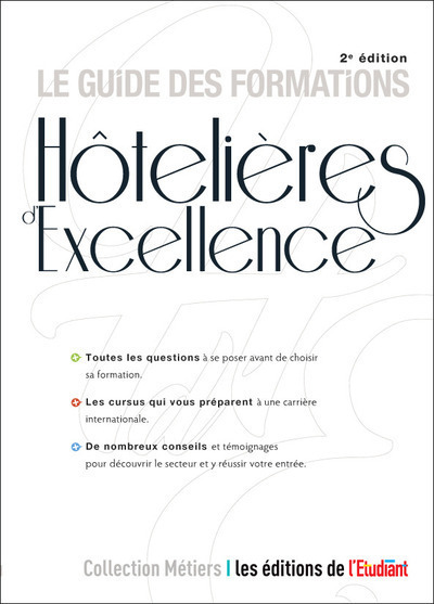 LE GUIDE DES FORMATIONS HOTELIERES D'EXCELLENCE