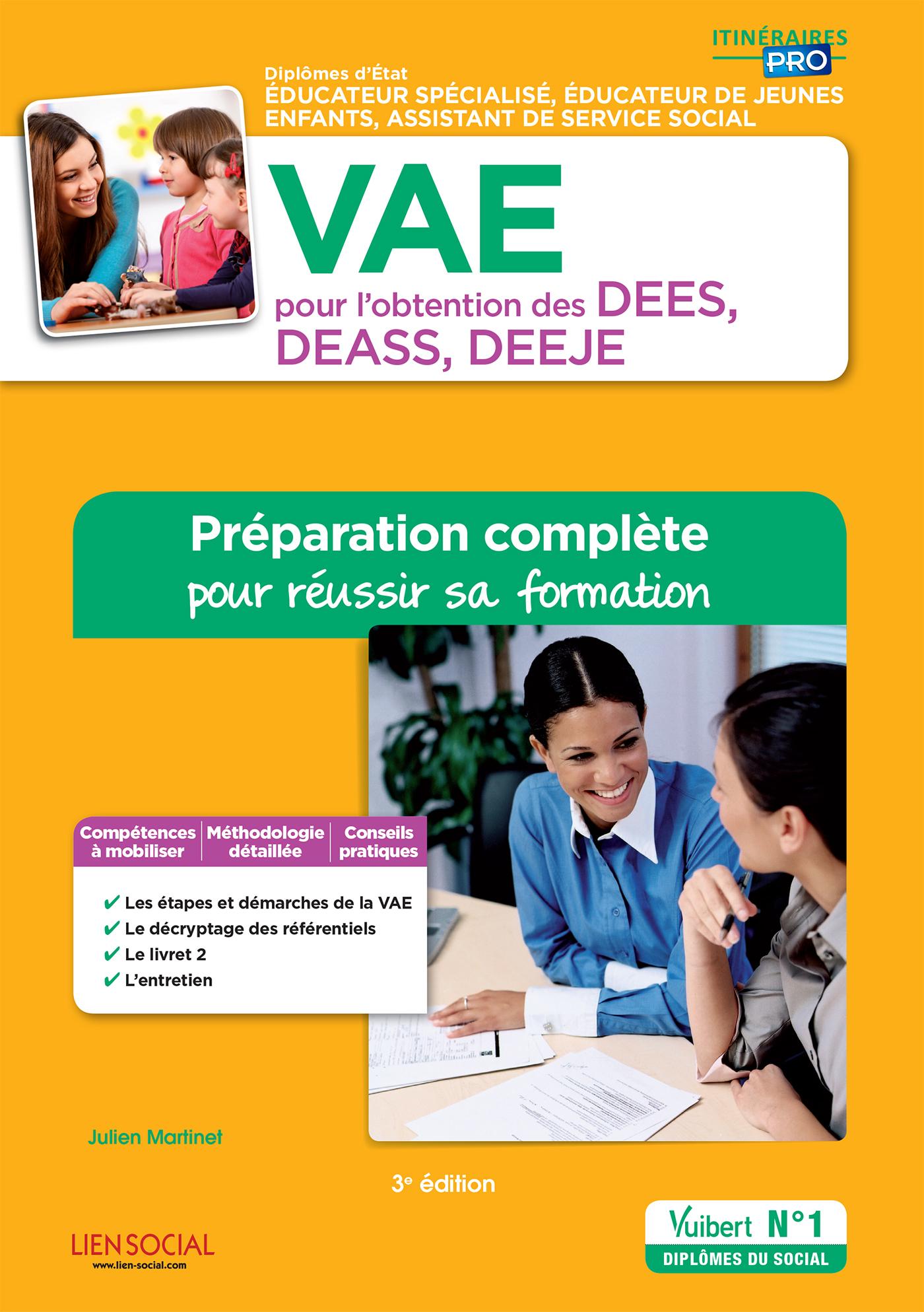 VAE POUR L'OBTENTION DES DEES DEASS DEEJE PREPARATION COMPLETE REUSSIR 3E EDT