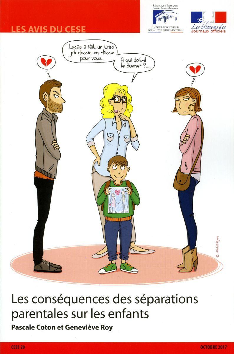 LES CONSEQUENCES DES SEPARATIONS PARENTALES SUR LES ENFANTS
