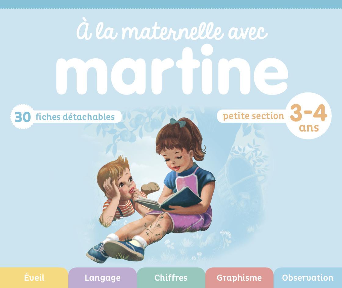 A LA MATERNELLE AVEC MARTINE