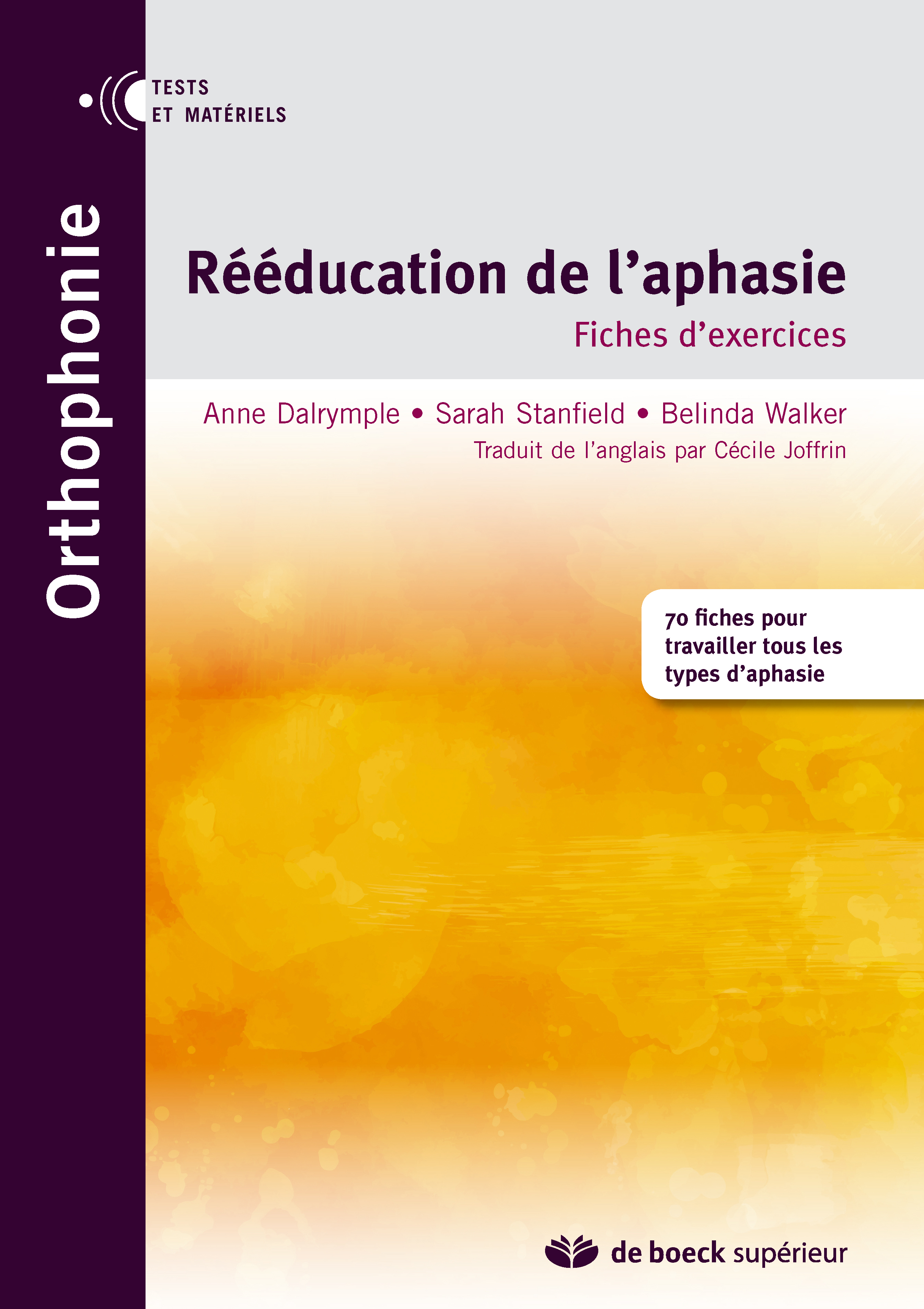 REEDUCATION DE L'APHASIE