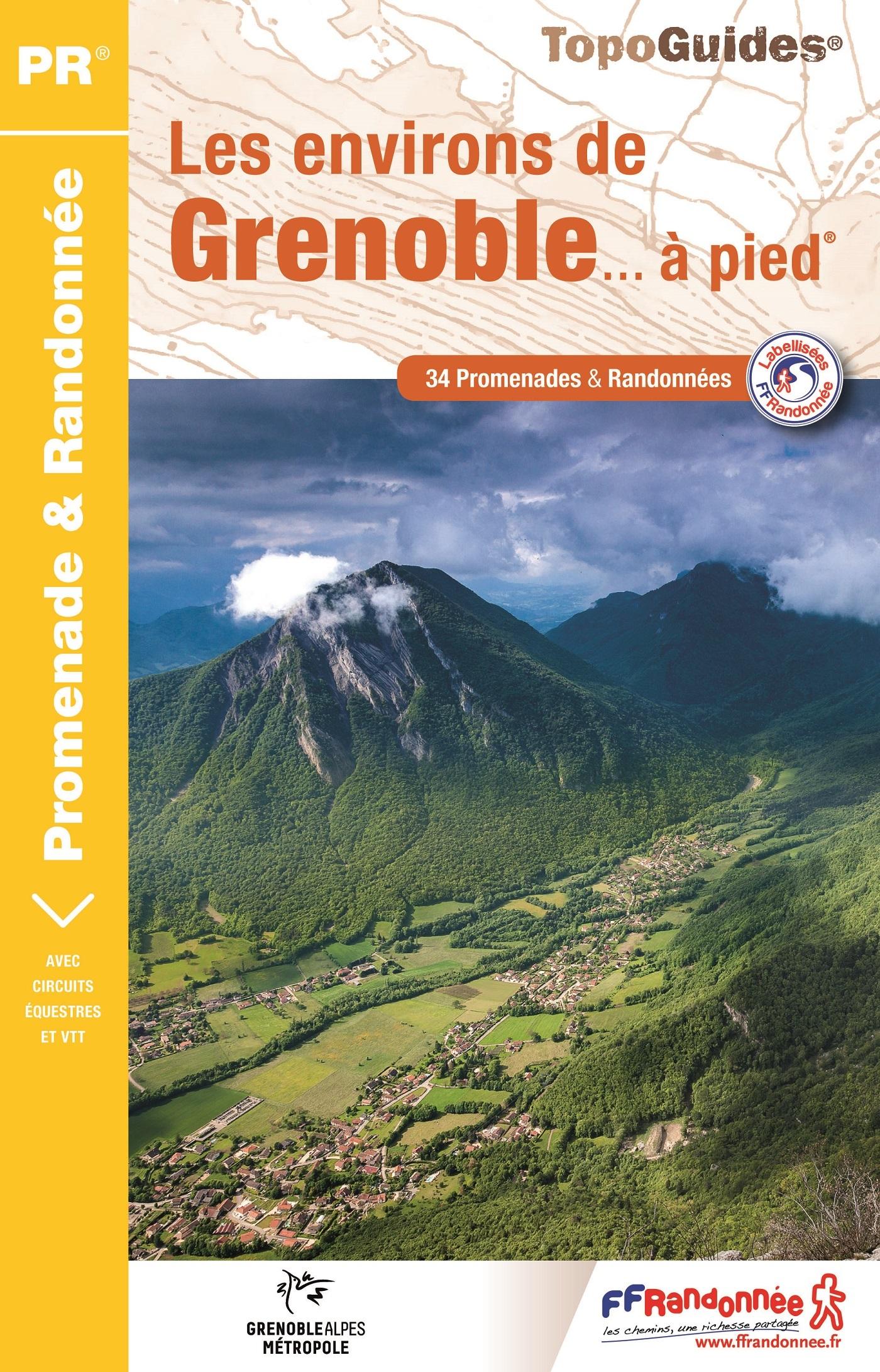 LES ENVIRONS DE GRENOBLE A PIED 2018 - P381