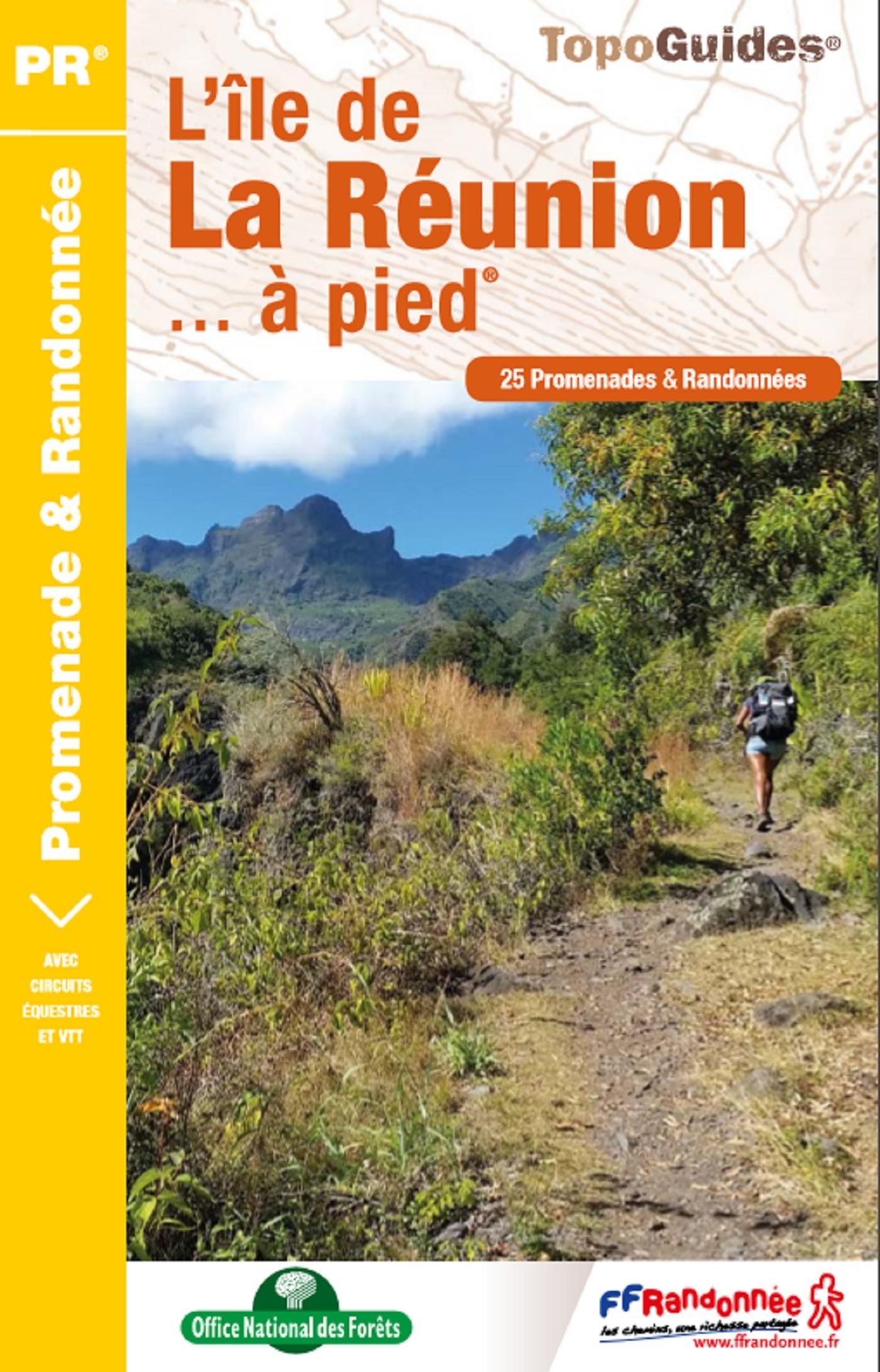 L'ILE DE LA REUNION A PIED - P974