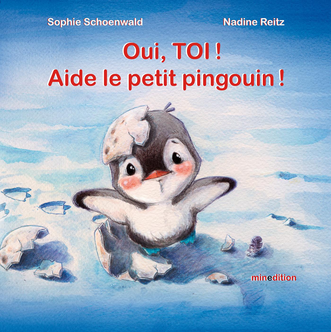 OUI, TOI ! AIDE LE PETIT PINGOUIN !