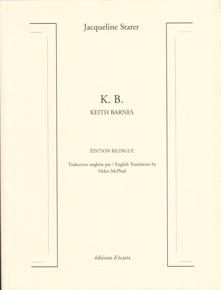 K. B. KEITH BARNES EDITION BILINGUE