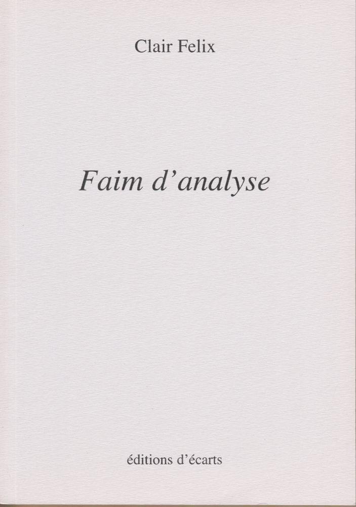 FAIM D'ANALYSE