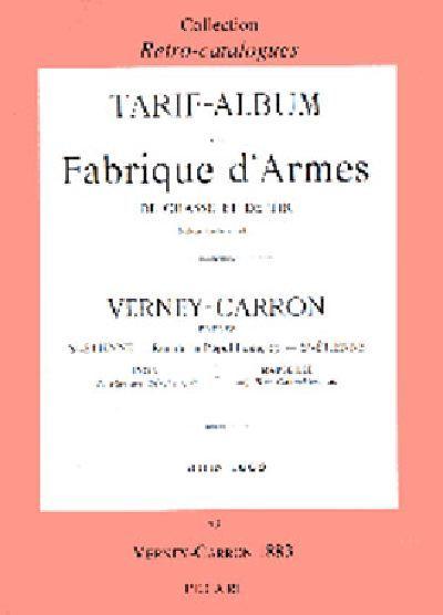 VERNEY-CARRON 1883