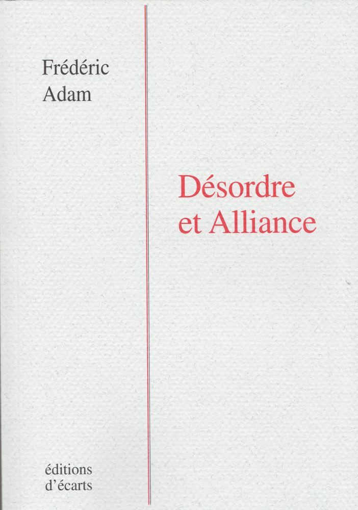 DESORDRE ET ALLIANCE