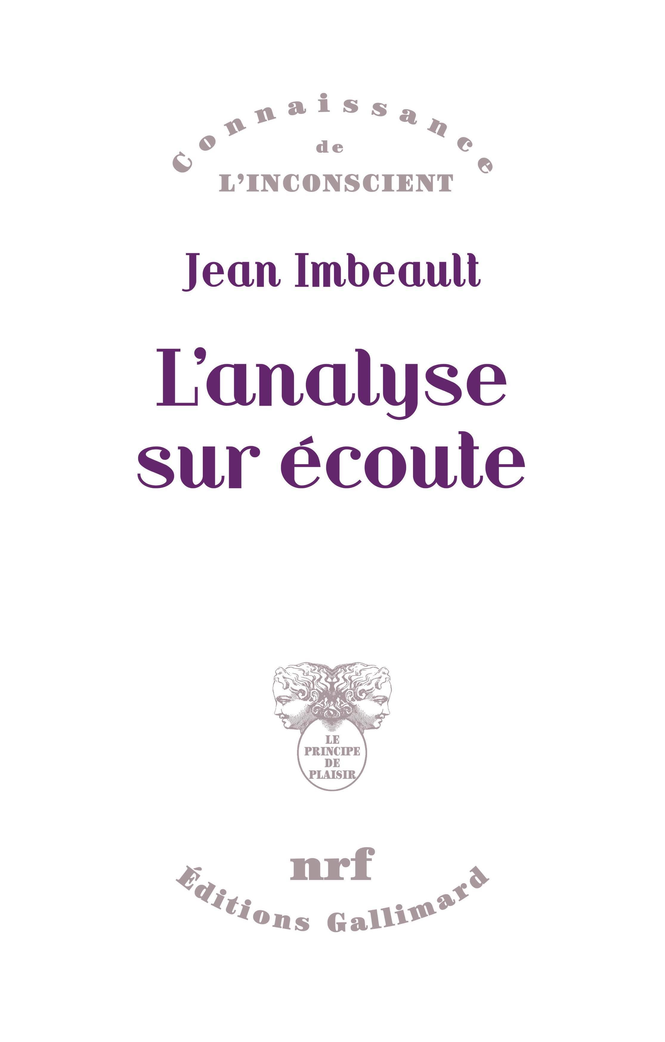 L'ANALYSE SUR ECOUTE
