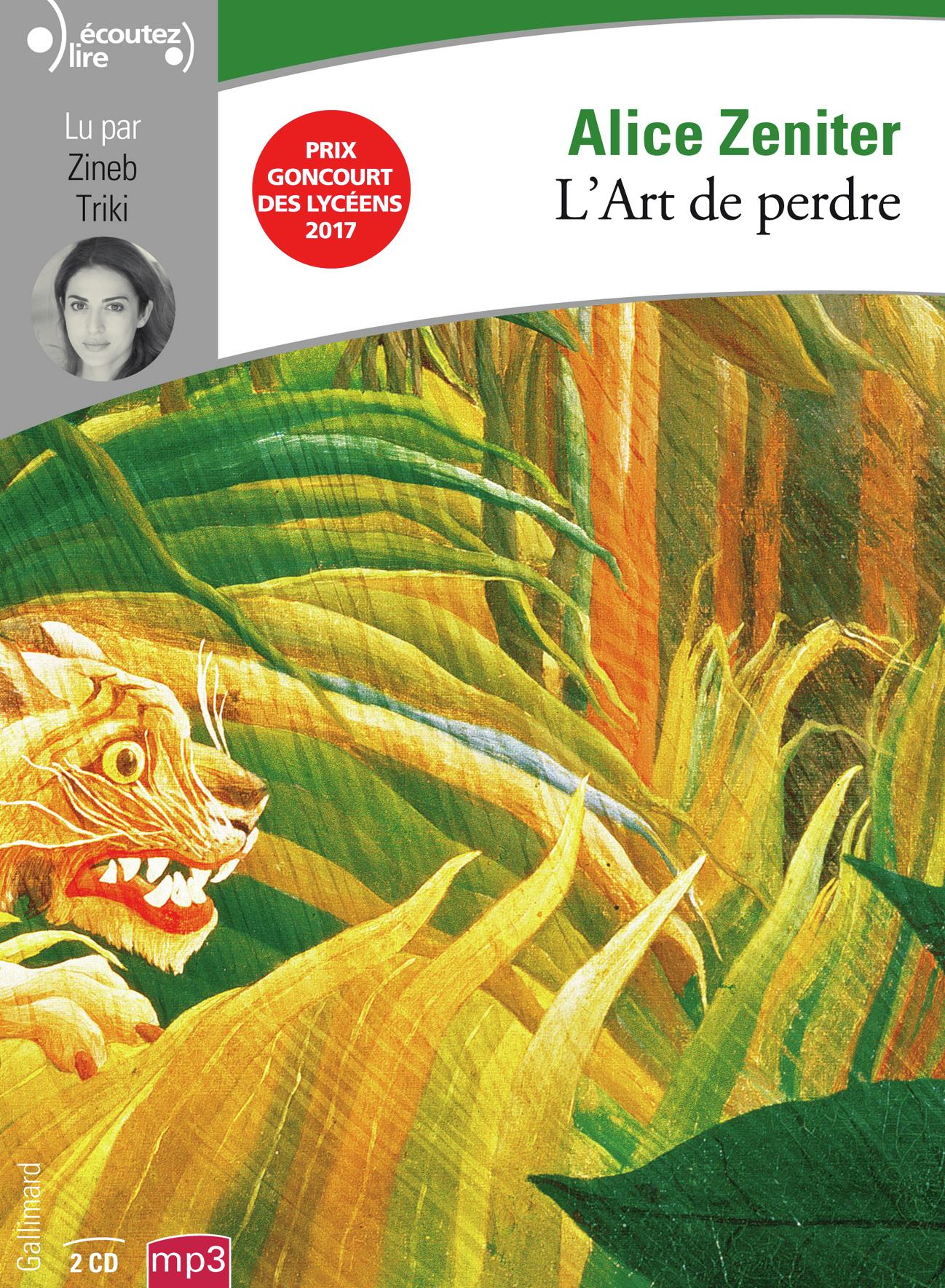 L'ART DE PERDRE CD
