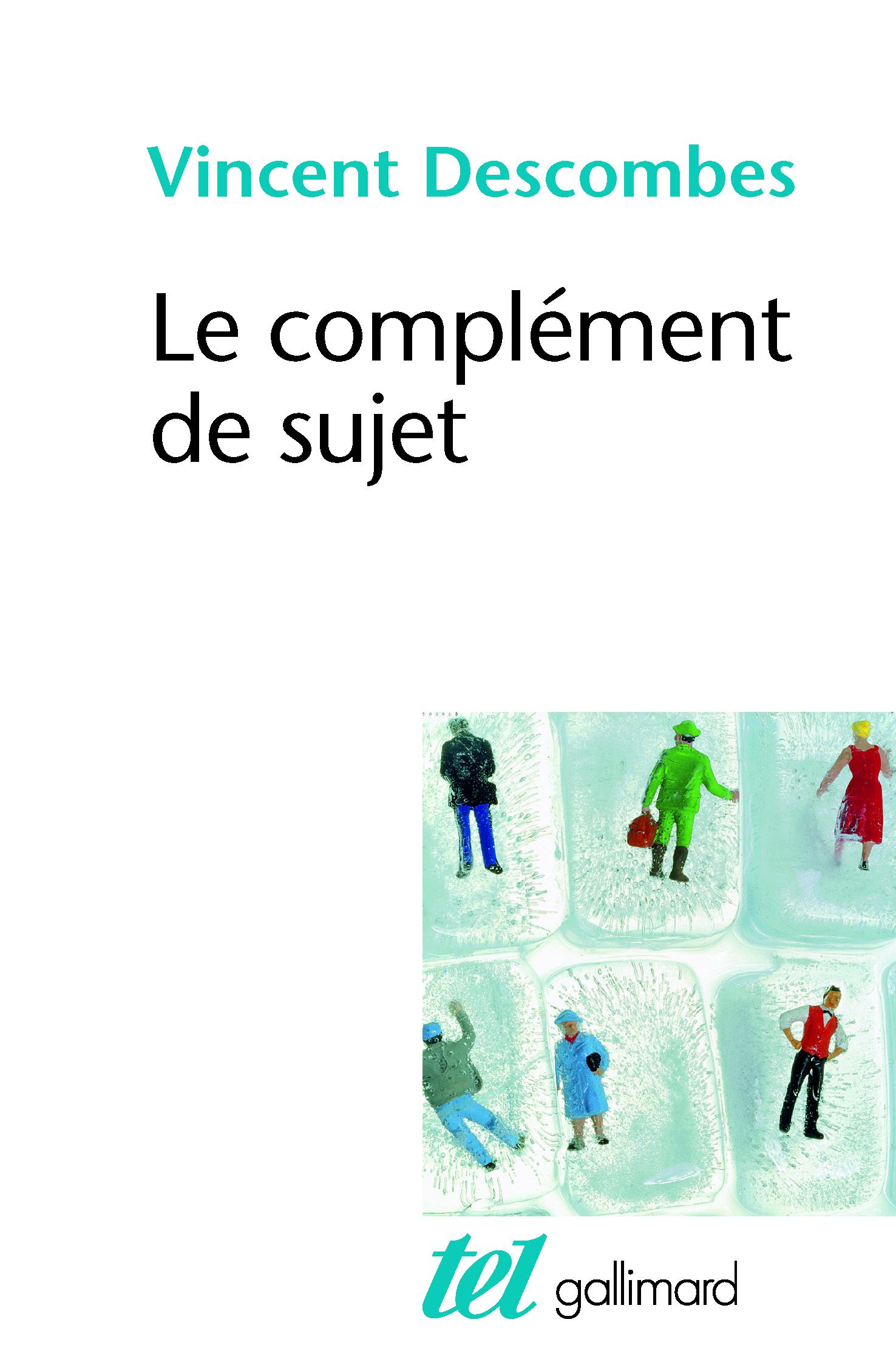LE COMPLEMENT DE SUJET