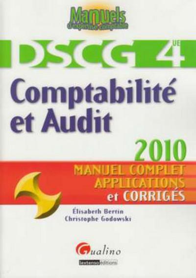 COMPTABILITE ET AUDIT - DSCG 4
